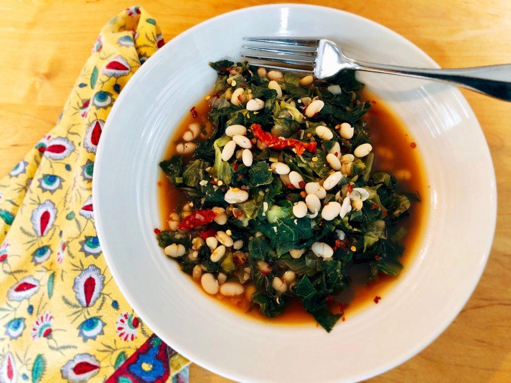 vegan-beans-and-greens